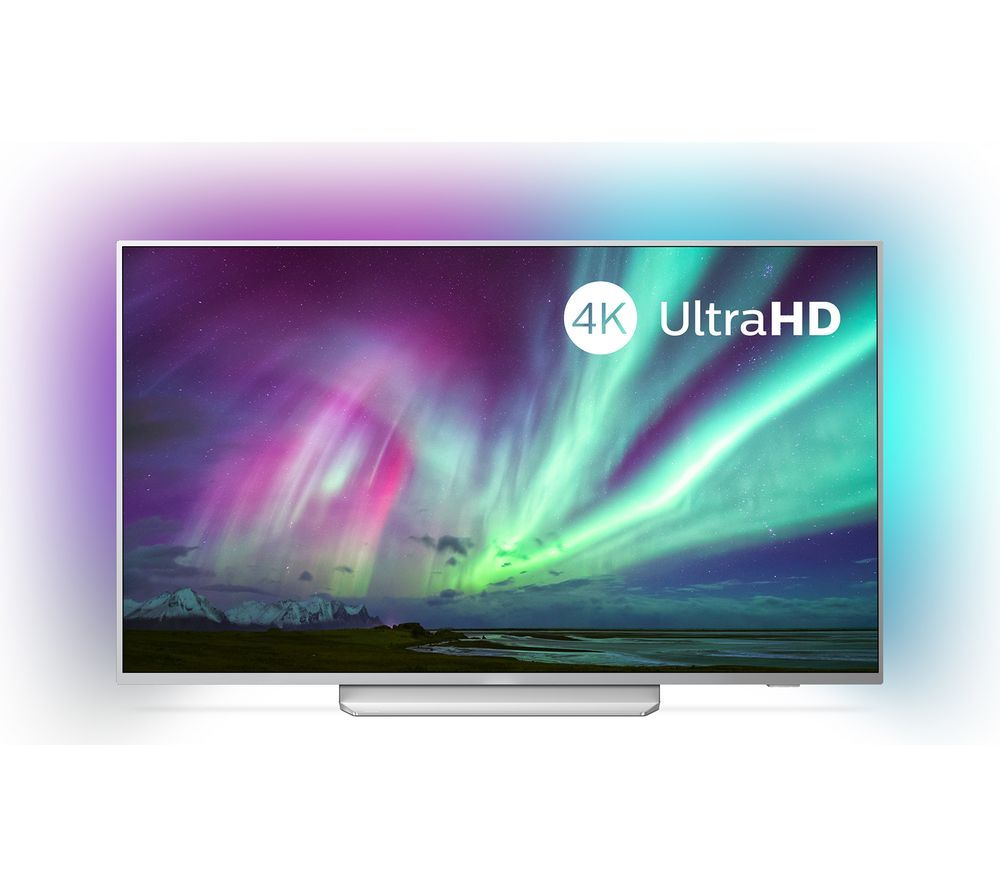 "65"" PHILIPS Ambilight 65PUS8204/12  Smart 4K Ultra HD HDR LED TV with Google Assistant"