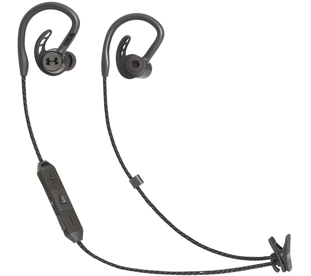 JBL Under Armour Pivot Sport Wireless Earphones - Black, Black