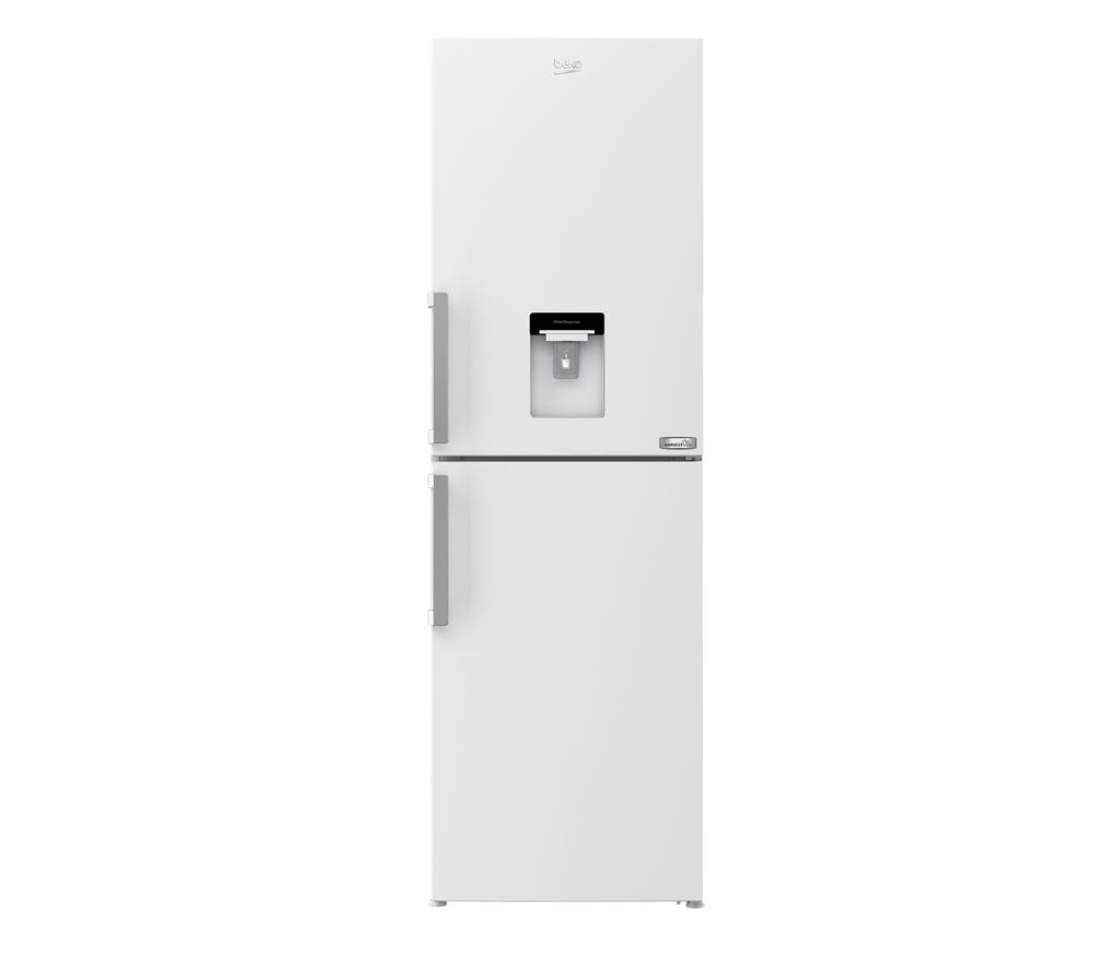 BEKO HarvestFresh CFP3691DVW 50/50 Fridge Freezer - Gloss White, White