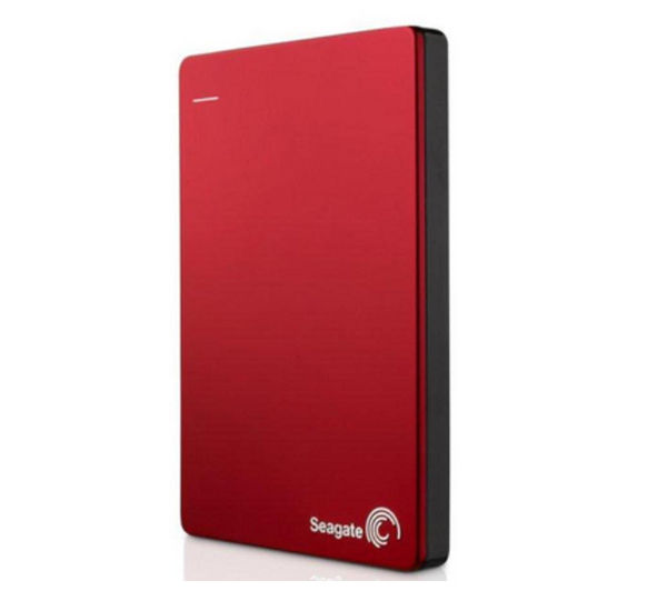 SEAGATE Backup Plus Portable Hard Drive - 1 TB, Red, Red