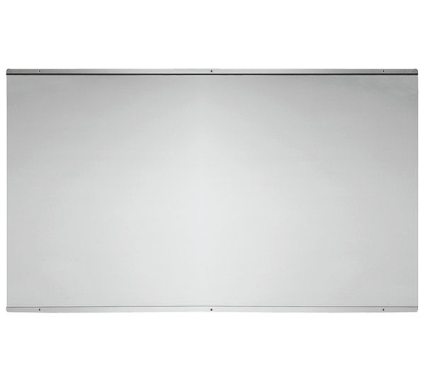 BAUMATIC BSB10.1SS Stainless Steel Splashback, Stainless Steel