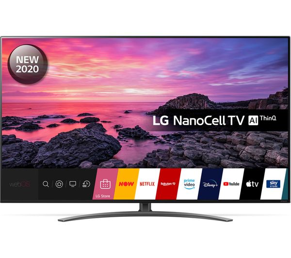 "75"" LG 75NANO916NA  Smart 4K Ultra HD HDR LED TV with Google Assistant & Amazon Alexa"