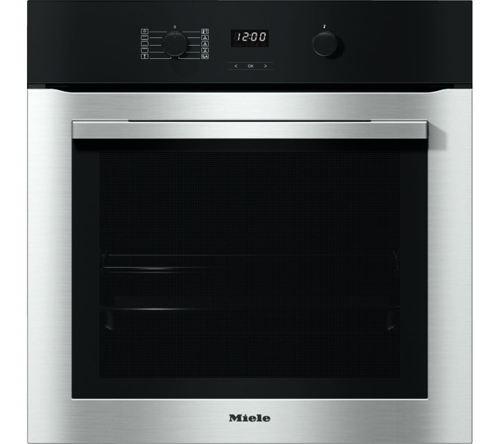 MIELE H2760B Electric Oven - Steel, Red