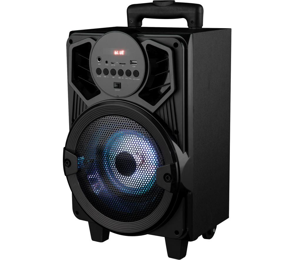 AKAI A58149 Portable Bluetooth Party Speaker - Black, Black