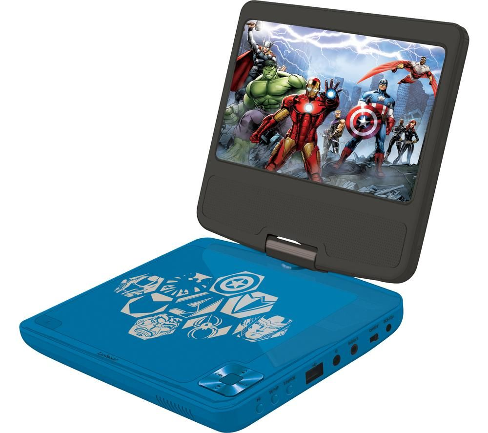 LEXIBOOK DVDP6AV Portable DVD Player - Avengers