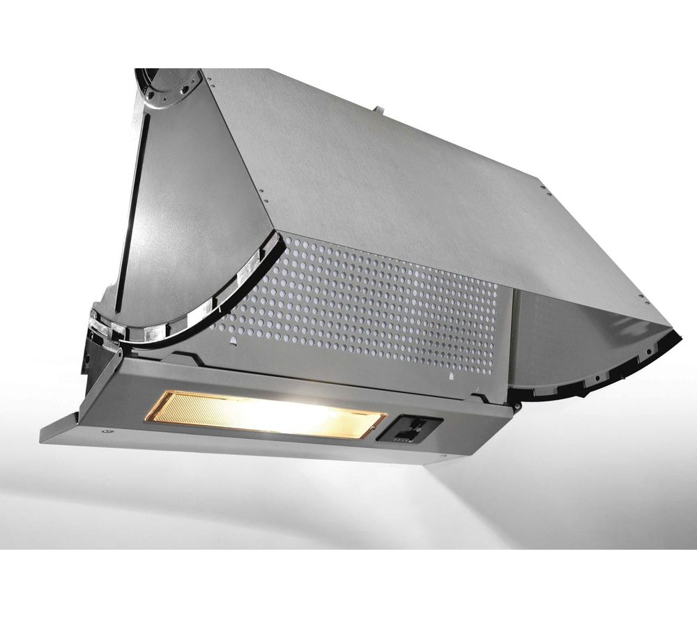 CBP613NGR Integrated Cooker Hood - Grey, Grey