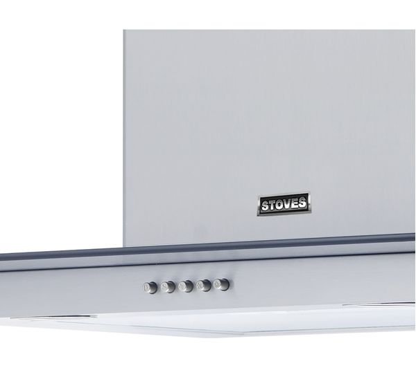 STOVES S600GDP Chimney Cooker Hood - Stainless Steel, Stainless Steel