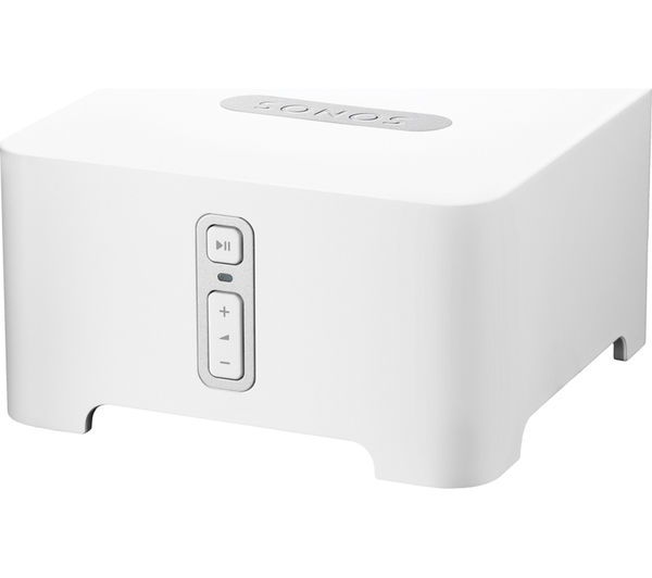 SONOS CONNECT Wireless Multi-Room Stereo Adaptor, White