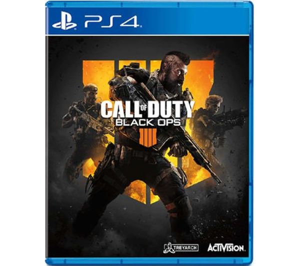 PS4 Call of Duty: Black Ops 4, Black