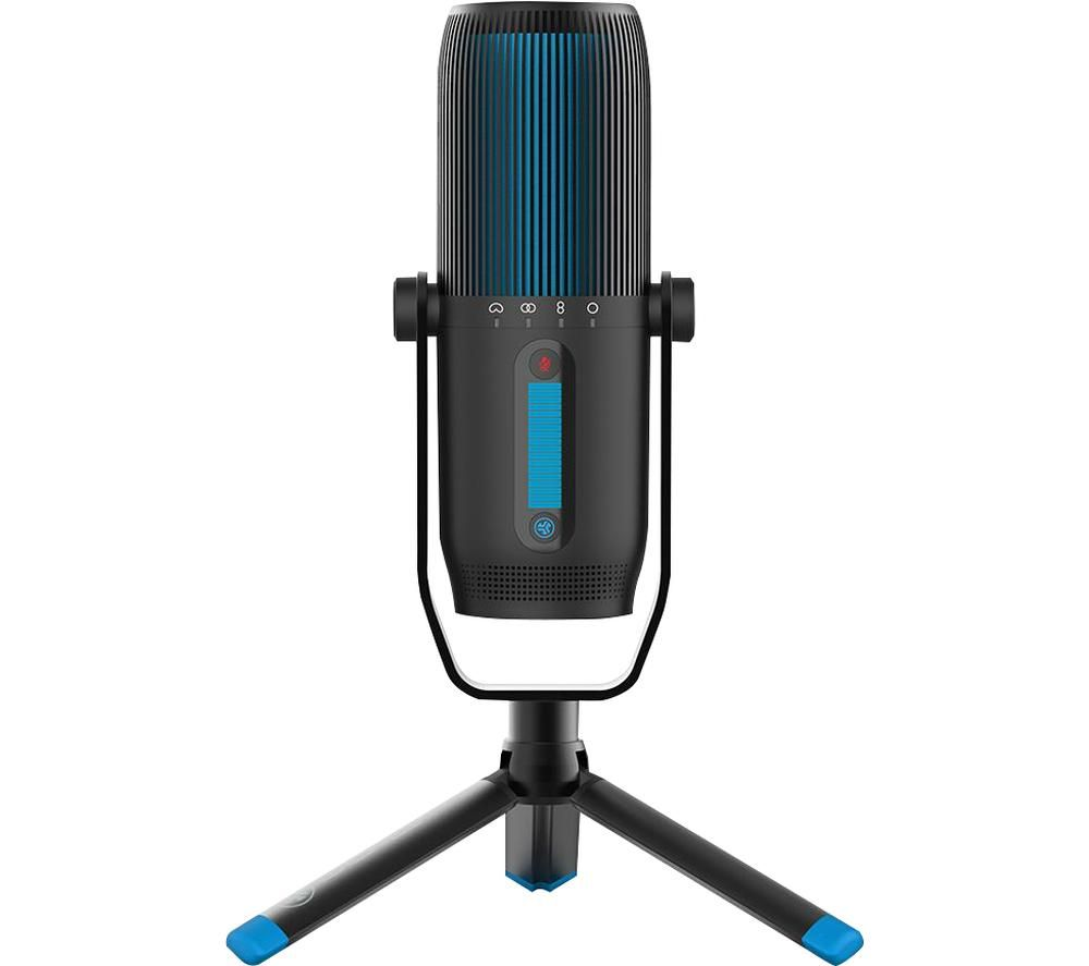 JLAB AUDIO Talk Pro USB Microphone - Black, Black