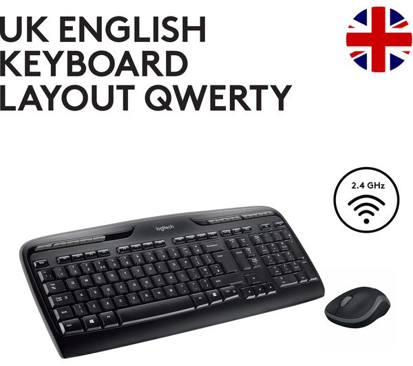 LOGITECH MK330 Wireless Keyboard & Mouse Set