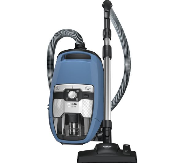 MIELE Blizzard CX1 PowerLine Cylinder Bagless Vacuum Cleaner - Blue, Blue