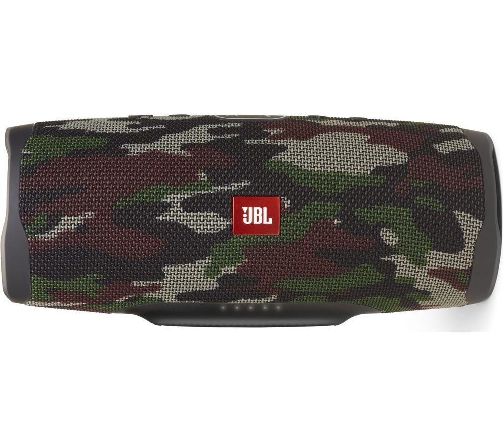 JBL Charge 4 Portable Bluetooth Speaker - Camouflage Green, Green