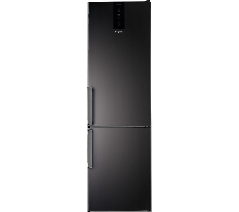 HOTPOINT H9T 921T KS H 2 60/40 Fridge Freezer - Black, Black