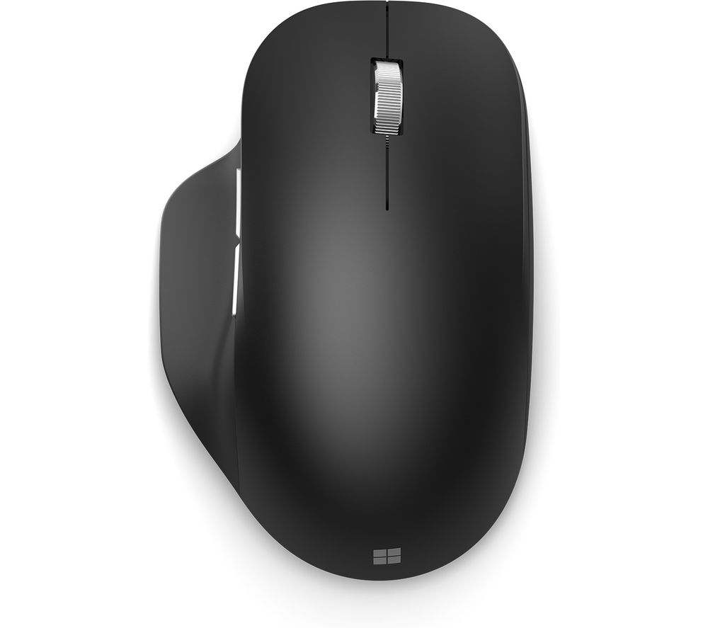 MICROSOFT Ergonomic Bluetooth Wireless BlueTrack Mouse - Black, Black