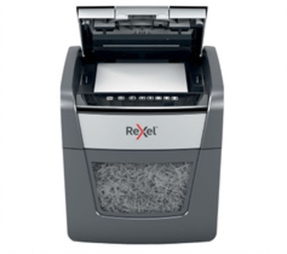 REXEL Optimum 45X Cross Cut Paper Shredder, Red