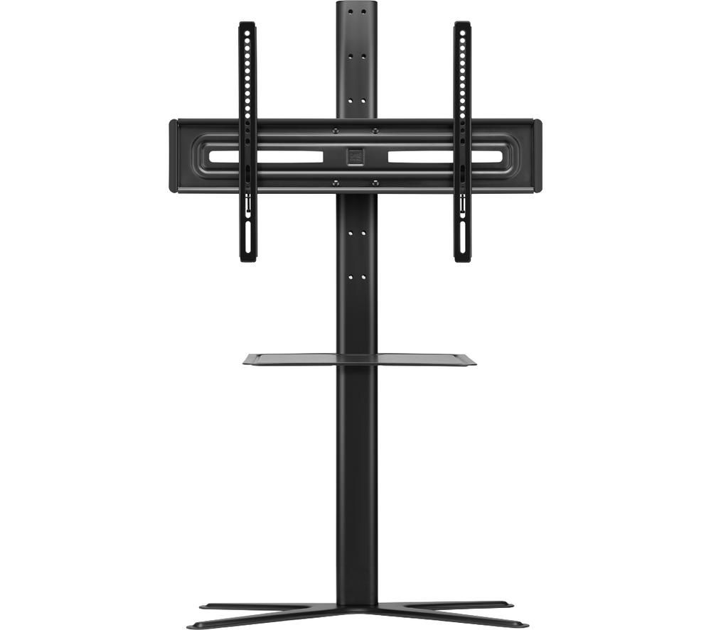 ONE FOR ALL Solid WM 4672 400 mm TV Stand with Bracket – Black, Black
