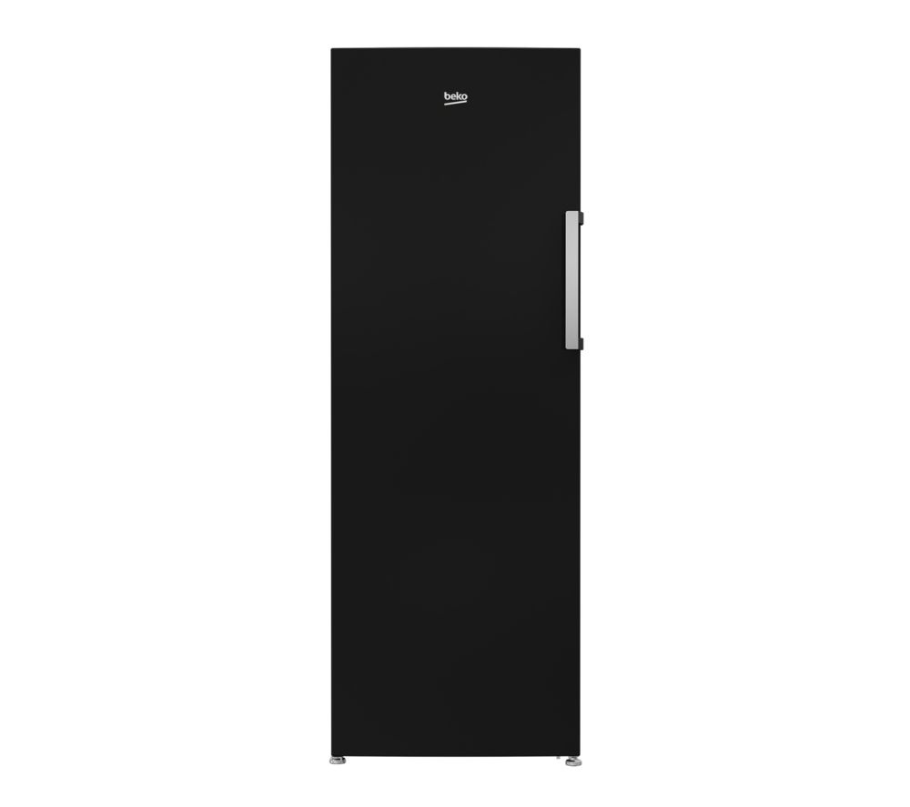 BEKO FFP3671B Tall Freezer - Black, Black