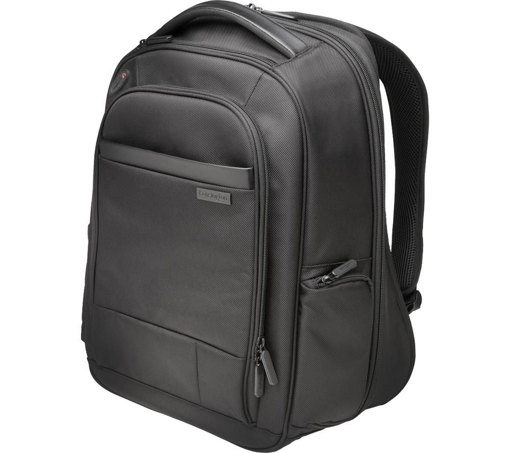 "KENSINGTON Contour 2.0 Business 15.6"" Laptop Backpack - Black, Black"