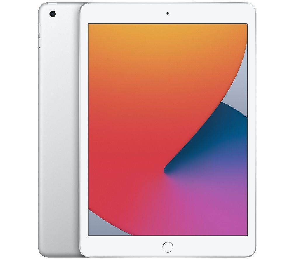 "APPLE 10.2"" iPad (2020) - 32 GB, Silver, Silver"