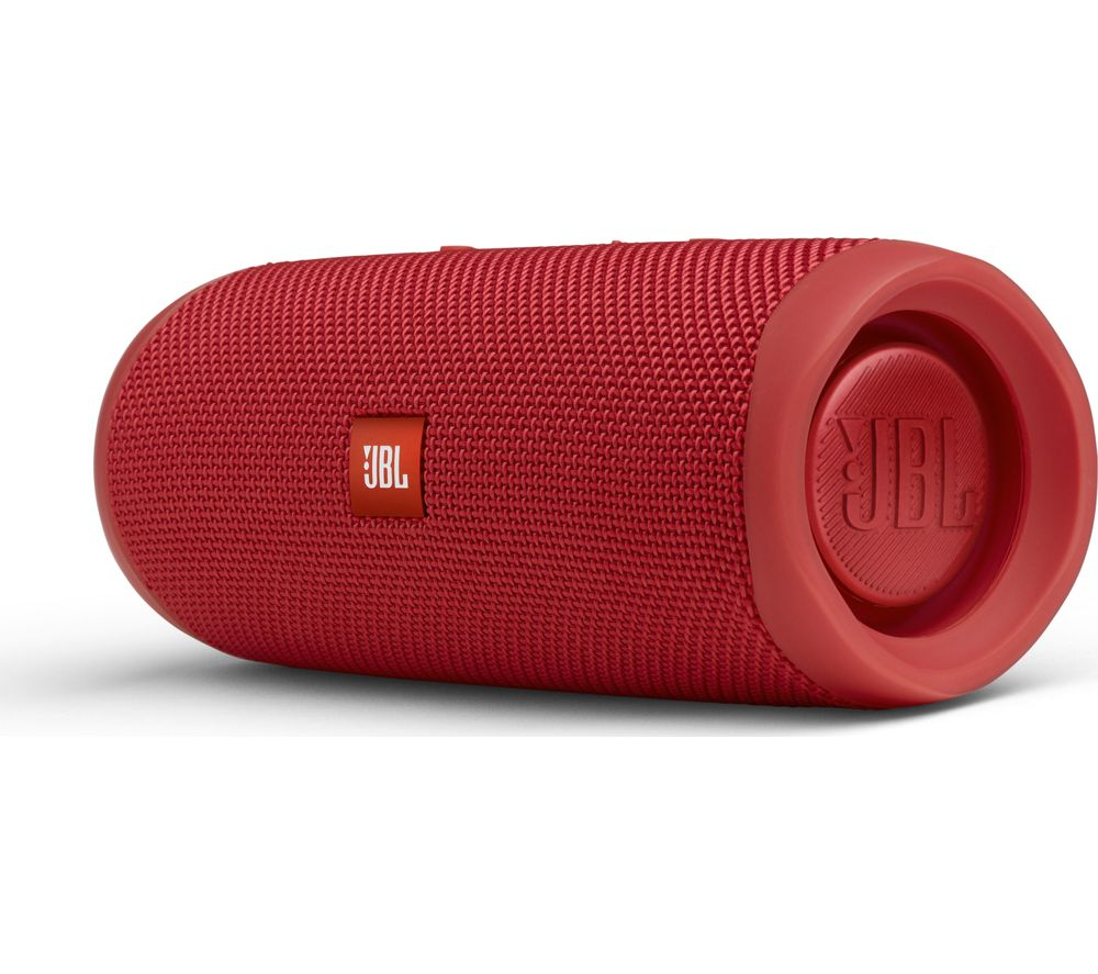 Flip 5 Portable Bluetooth Speaker - Red, Red