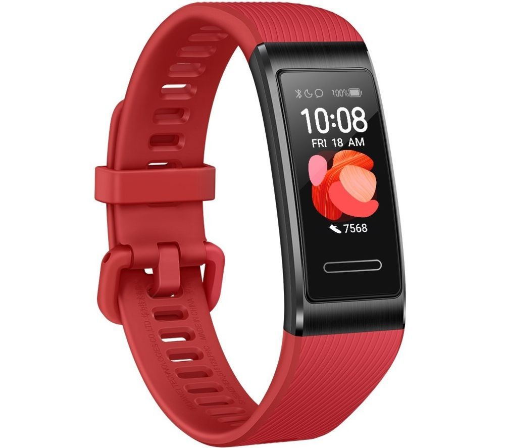 HUAWEI Band 4 Pro - Cinnabar Red, Universal, Red