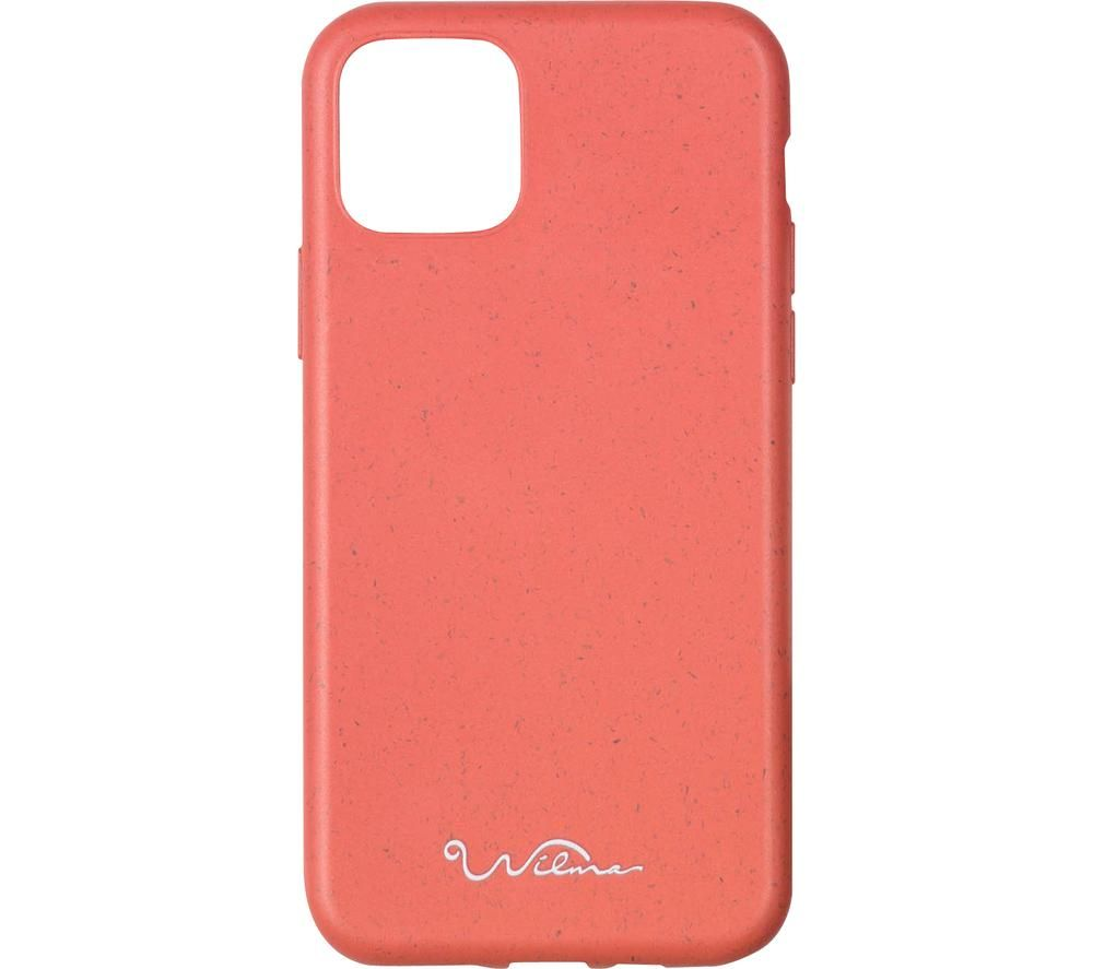 WILMA Stop Ocean Plastic Pollution iPhone 11 Case - Red, Red