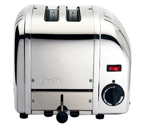 DUALIT Vario 20245 2-Slice Toaster ? Stainless Steel, Stainless Steel