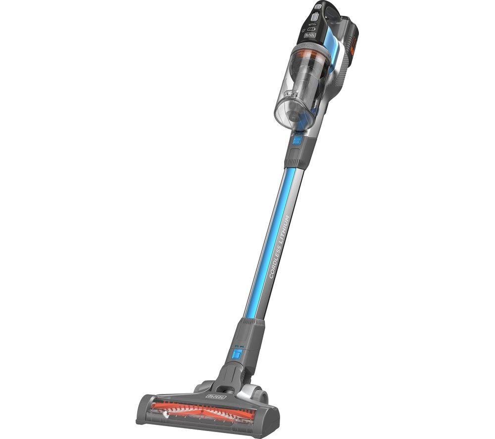 BLACK + DECKER PowerSeries Extreme BHFEV362D-GB Cordless Vacuum Cleaner - Blue, Black