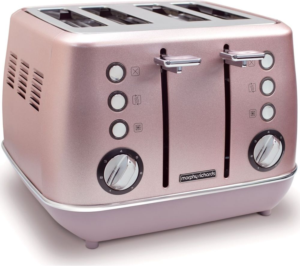 Evoke Special Edition 4-Slice Toaster - Rose Quartz