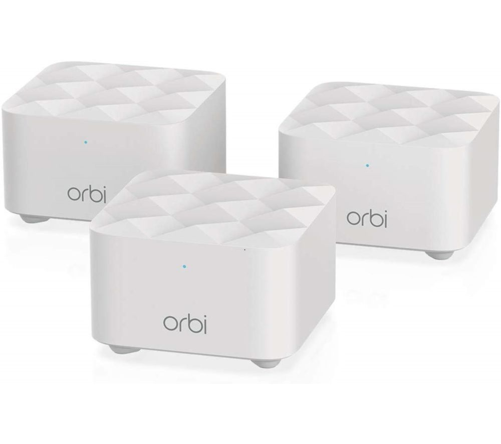NETGEAR Orbi RBK13 Whole Home WiFi System - Triple Pack