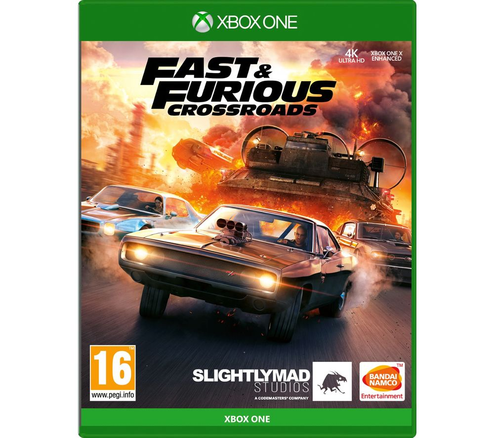 XBOX ONE Fast and Furious: Crossroads, Orange
