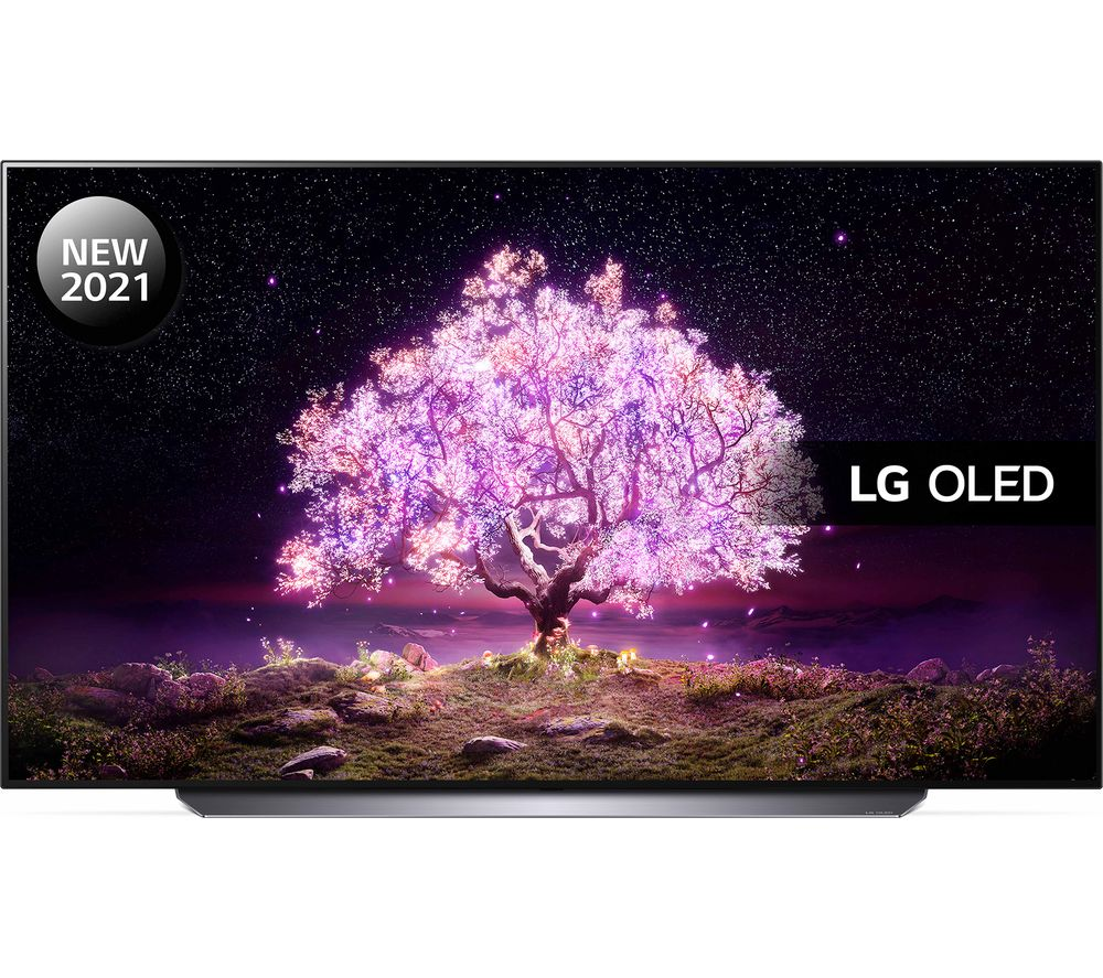"77"" LG OLED77C14LB  Smart 4K Ultra HD HDR OLED TV with Google Assistant & Amazon Alexa"