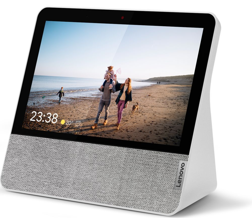 "LENOVO 7"" Smart Display with Google Assistant - Grey, Grey"