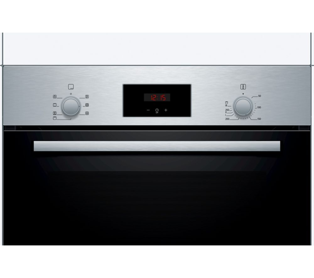 Serie 2 HBF113BR0B Electric Oven � Stainless Steel, Stainless Steel