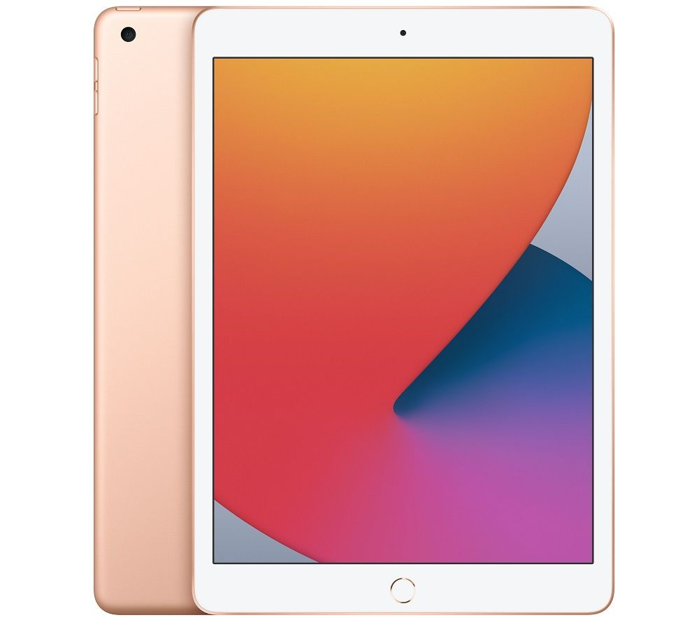 "APPLE 10.2"" iPad (2020) - 128 GB, Gold, Gold"