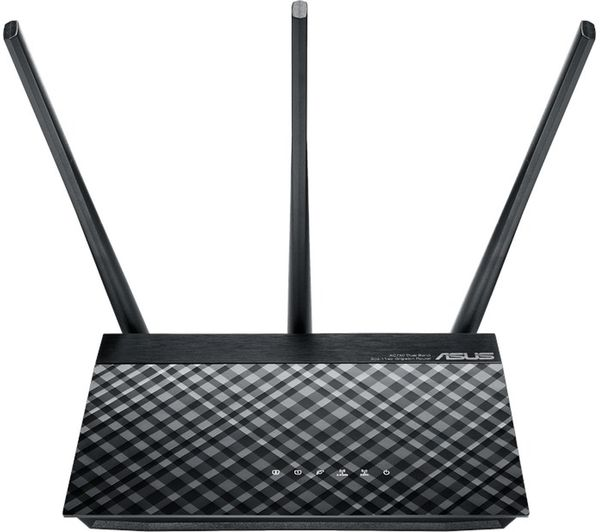 ASUS RT-AC53 WiFi Modem Router - AC 750, Dual-band