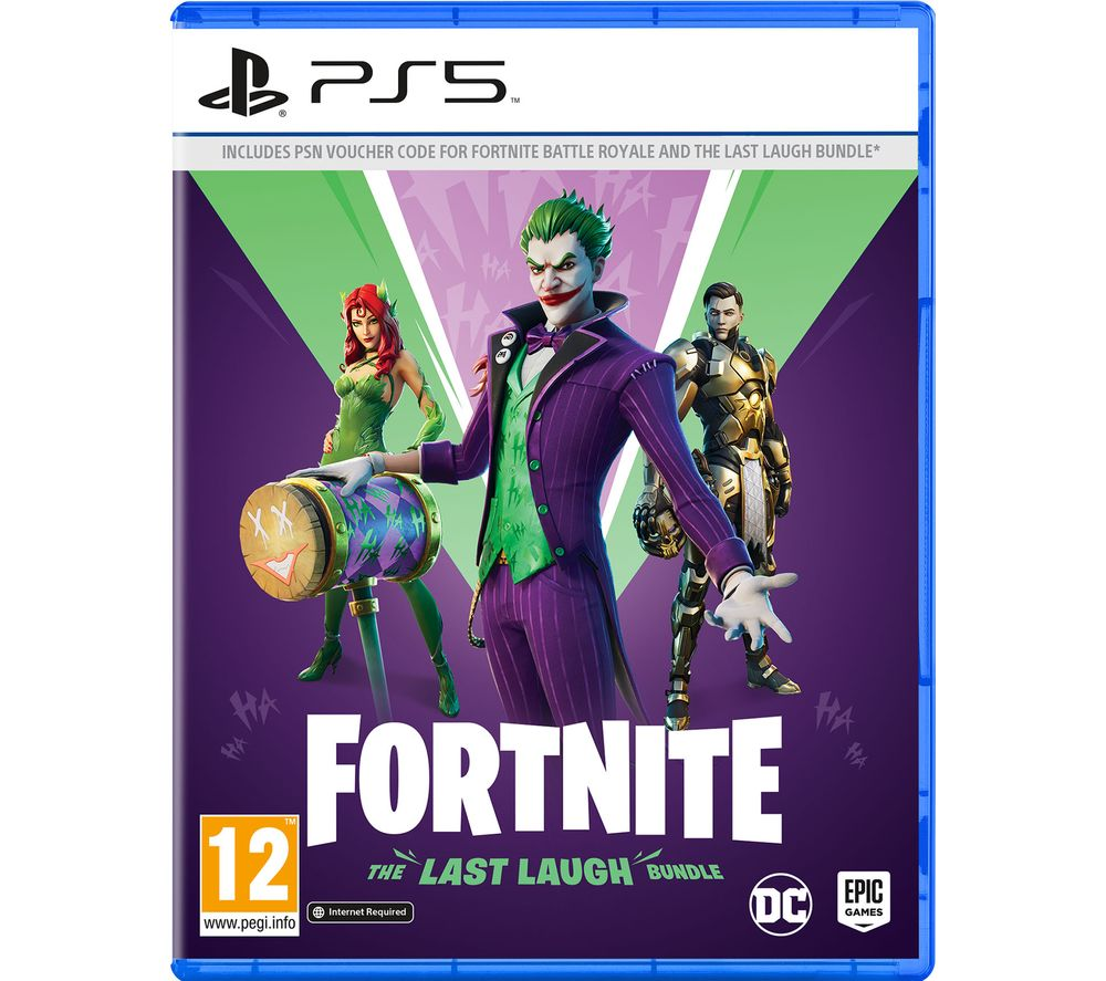 PLAYSTATION Fortnite: The Last Laugh Bundle