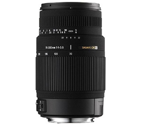 SIGMA 70-300 mm f/4-5.6 DG Telephoto Zoom Lens with Macro - for Canon