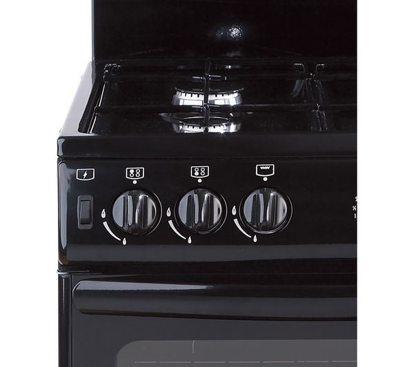 NEW WORLD 55THLG Gas Cooker - Black, Black