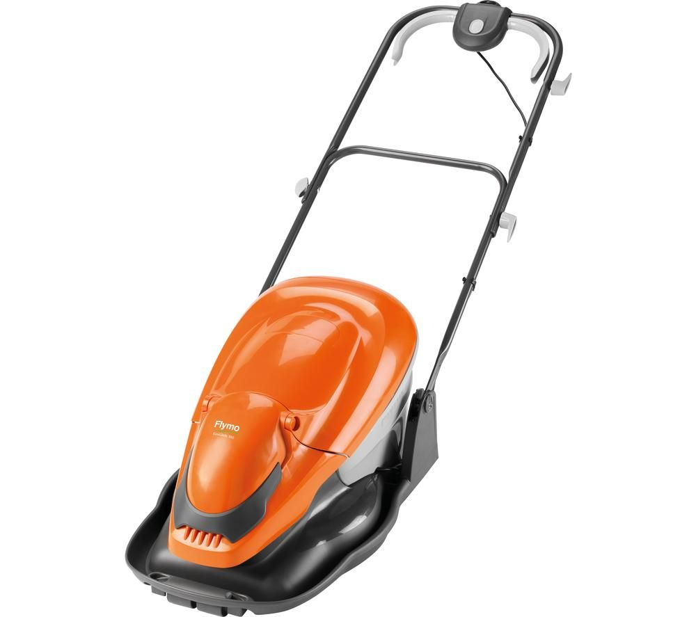 FLYMO Easi Glide 360 Corded Hover Lawn Mower - Orange, Orange
