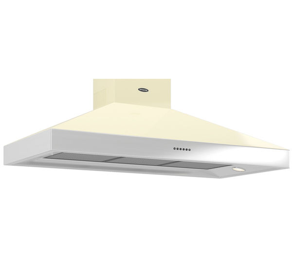 BRITANNIA Latour BTH120GC Chimney Cooker Hood - Cream, Cream