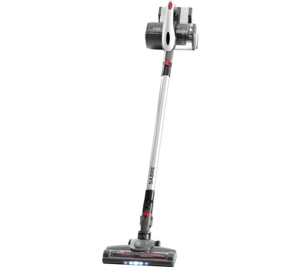 RUSSELL HOBBS Sabre RHHS3001 Cordless Vacuum Cleaner - White & Grey, White