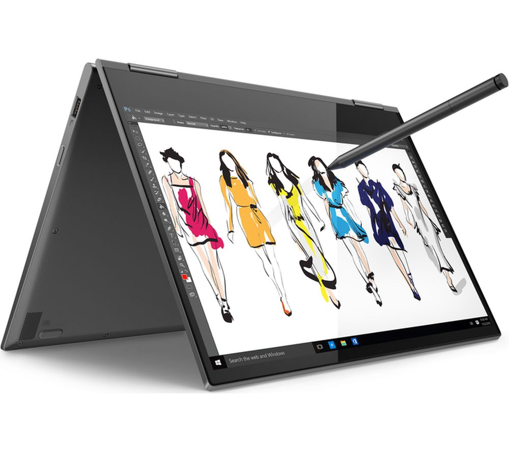 LENOVO YOGA 730-13IWL 13.3� Intel®� Core™� i5 2 in 1 - 256 GB SSD, Grey, Grey
