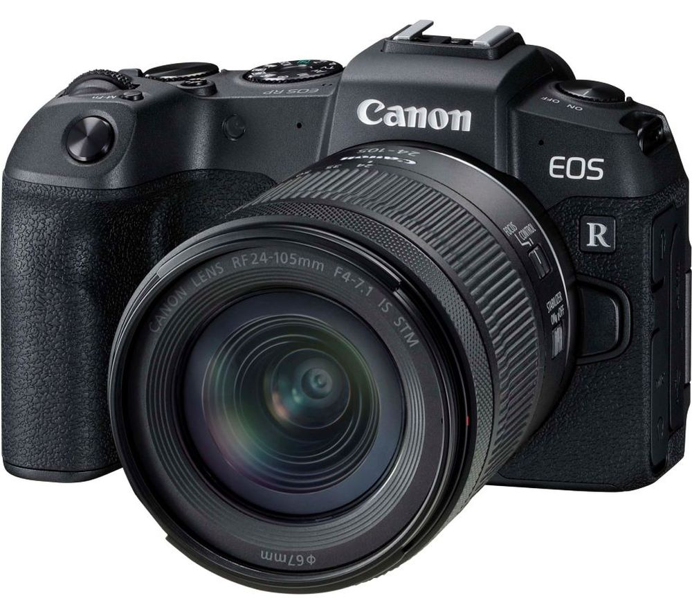 CANON EOS RP Mirrorless Camera with RF 24-105 mm f/4-7.1 IS STM Lens