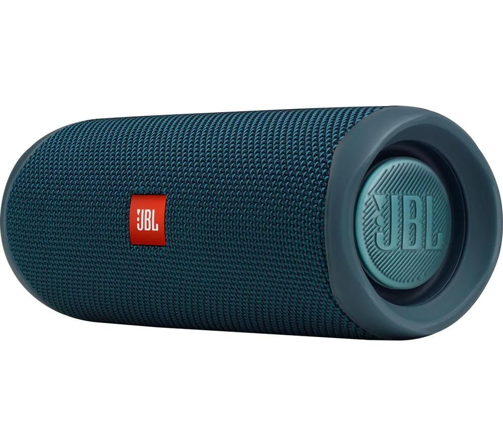 JBL Flip 5 Eco Portable Bluetooth Speaker - Blue, Blue