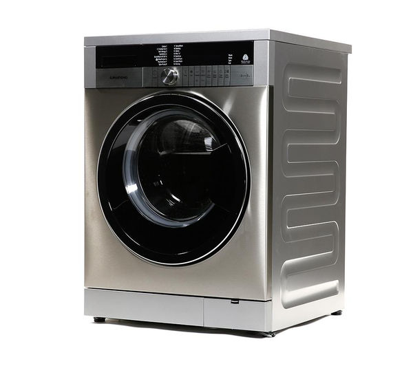GRUNDIG GWN48430C Washing Machine - Stainless Steel, Stainless Steel