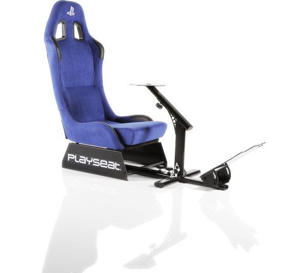Wondrous Playseat Evolution Playstation Gaming Chair Blue Blue Ibusinesslaw Wood Chair Design Ideas Ibusinesslaworg