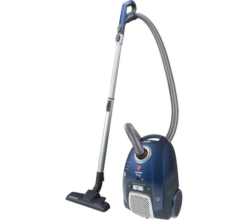 HOOVER Telios Extra TX50PET Cylinder Vacuum Cleaner - Blue, Blue