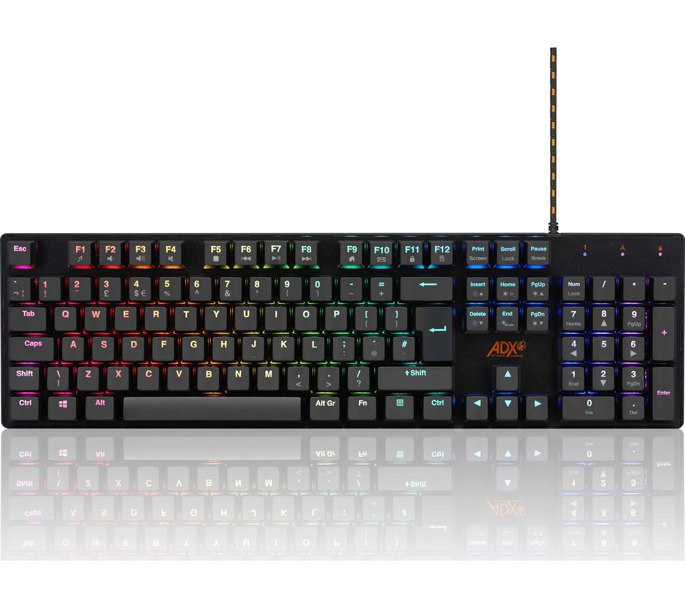 ADX MK0419 Mechanical Gaming Keyboard, Red